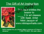 50% Off The Gift of Art Instruction_image