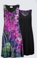 2020's NEW Reversible Dress: Along the WoodlandTrail_image