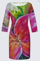 2020's NEW Jeanne Dress: Bright Lilies_image