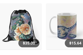 Click to see my homestyles items at Redbubble!